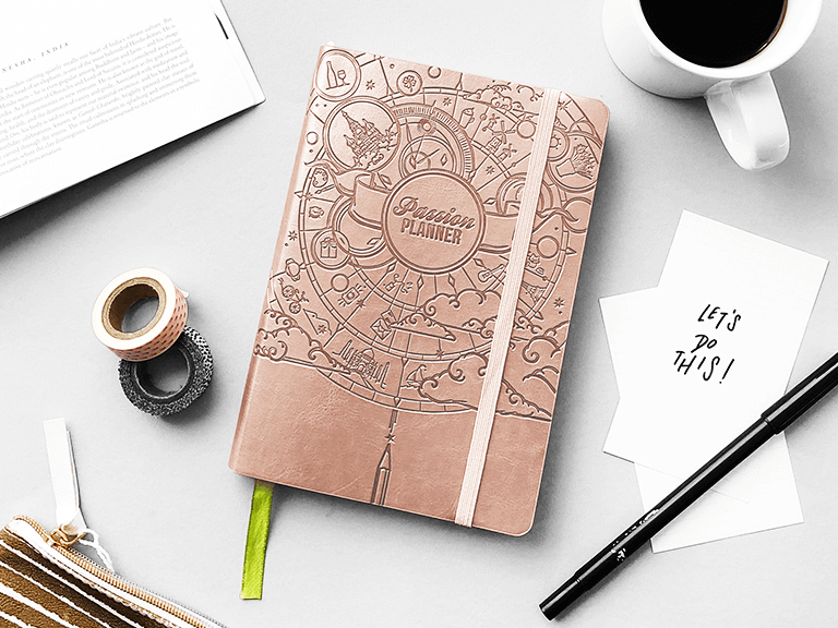 Passion Planner; Brand Development Case Study - Eventige