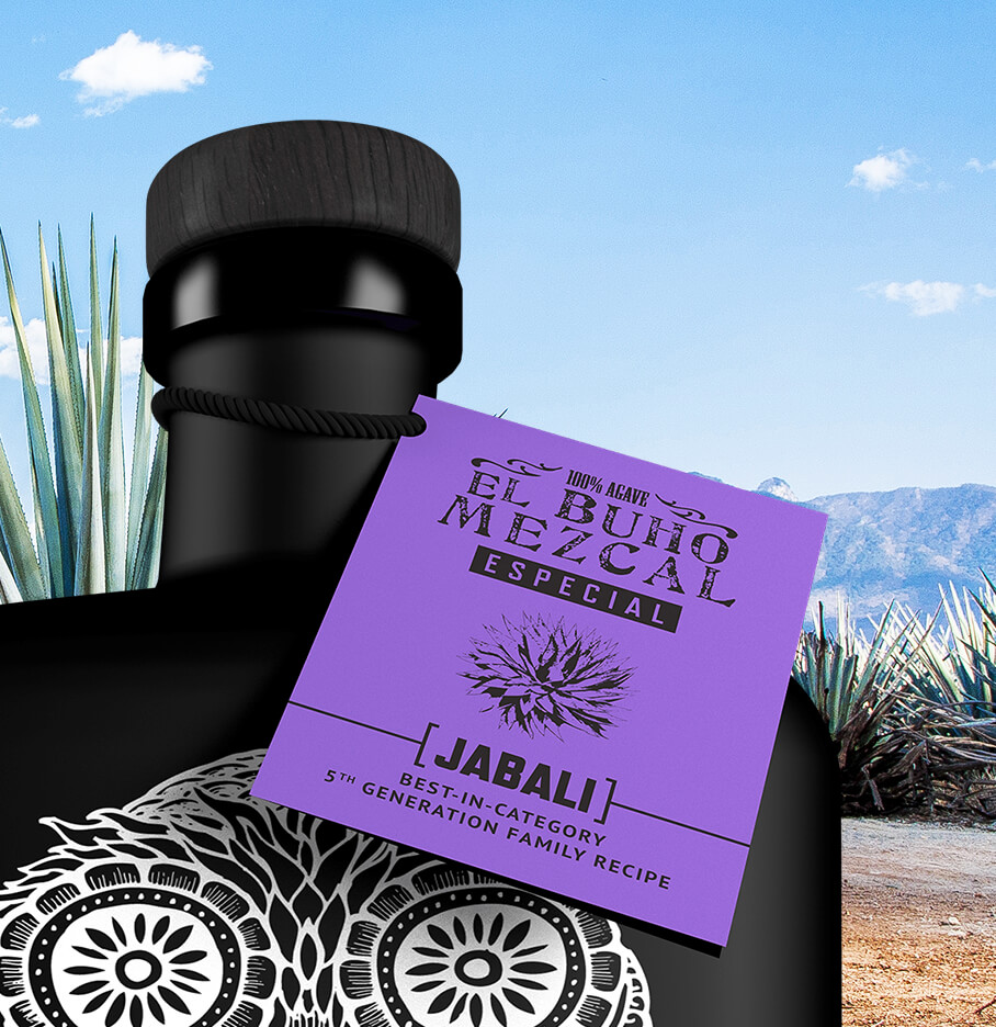 Product Packaging Design Example Of A Tequila Bottle