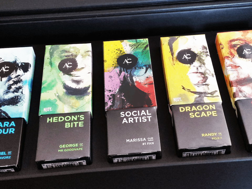 Vape and E-Cigarette Marketing Company Art Packaging in a Regulated Environment