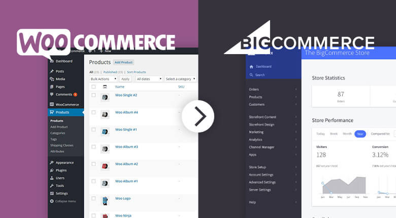 WooCommerce To BigCommerce Migration